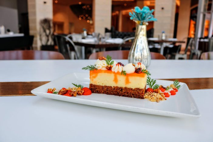 SBK Carrot Cake Cheesecake. Photo courtesy of Second Bar + Kitchen