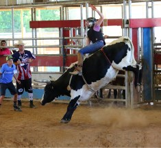 I Was One of Two Girls in Bull-riding School