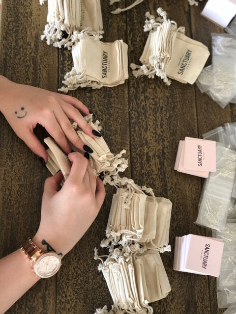 Jewelry packaging - Sanctuary Project