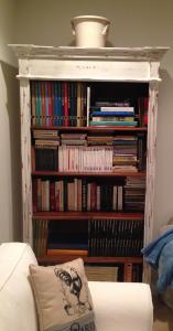 The new bookcase