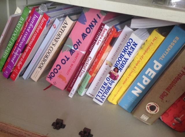 A small portion of my books