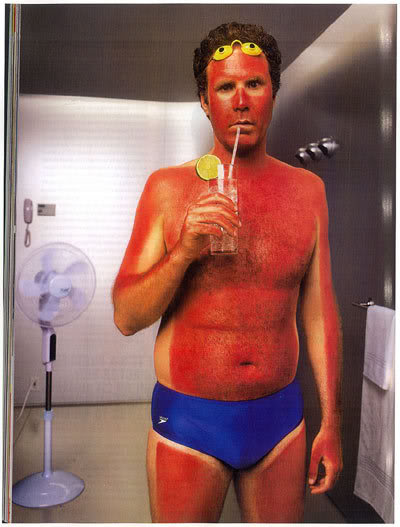 sunburnt will ferrell