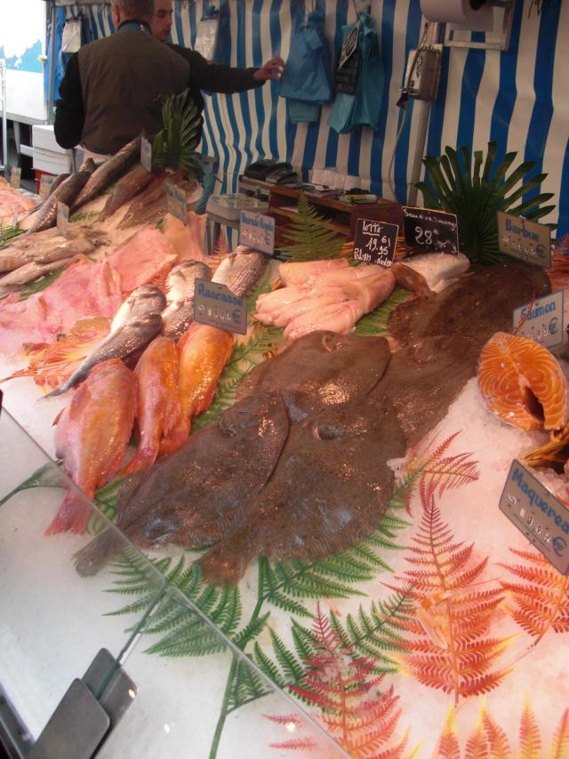 Paris Outdoor Marche Poisson