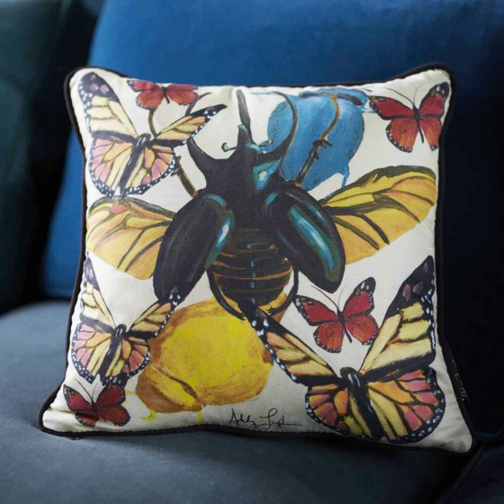 Bug pillow from Blake Livelys Preserve site. 136.00