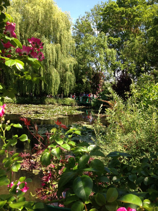 Giverny. Lillypads. Willows. tranquility.