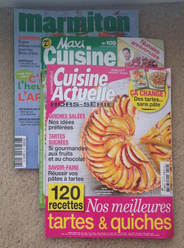 Shopping Food Magazines to translate 2