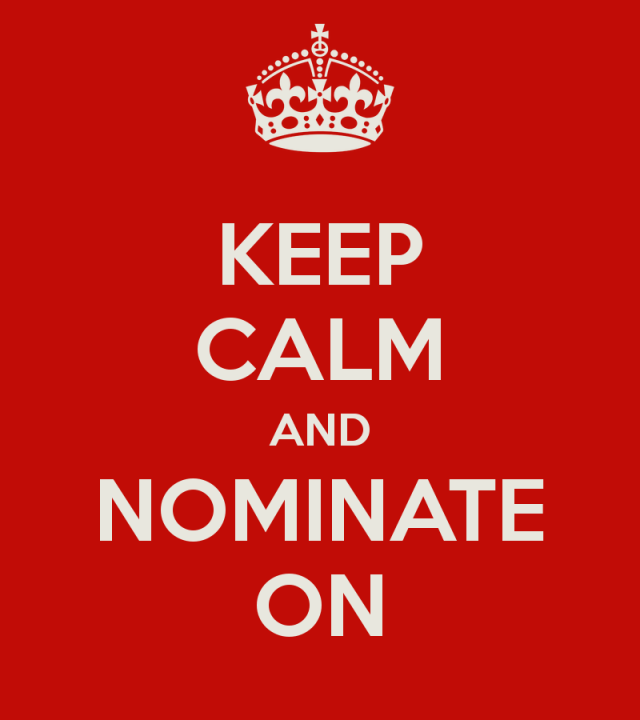 keep-calm-and-nominate-on
