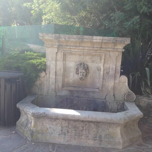 L'Aiguille. Little fountain