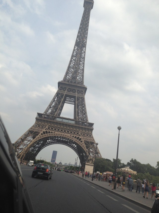 Paris. Leaning tower of Eiffel.