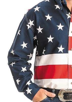 patriotism on my sleeve