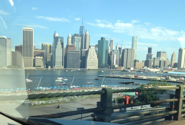 Saturday Brooklyn Heights view of Manhattan