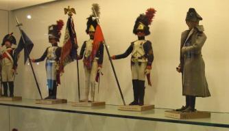 Paris Invalides More Military dolls Napoleonic