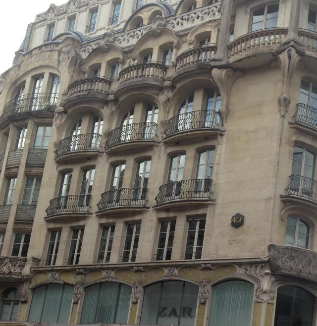 Paris. Windows