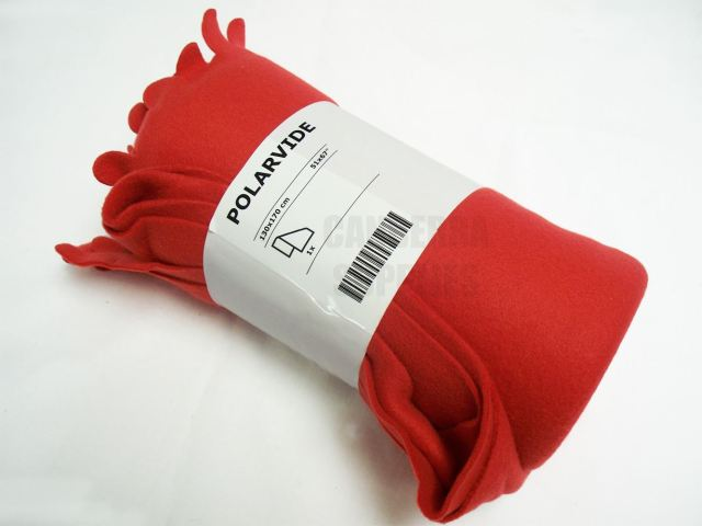 ikea-polarvide-throw-picnic-camping-blanket-fleece-rug-170cm-x-130cm-red-31809-p