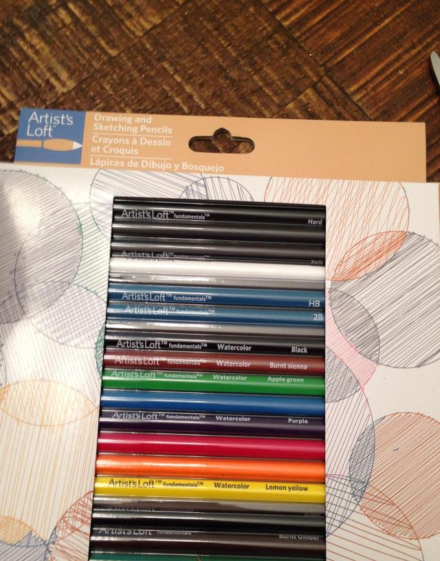 Pencil box top.