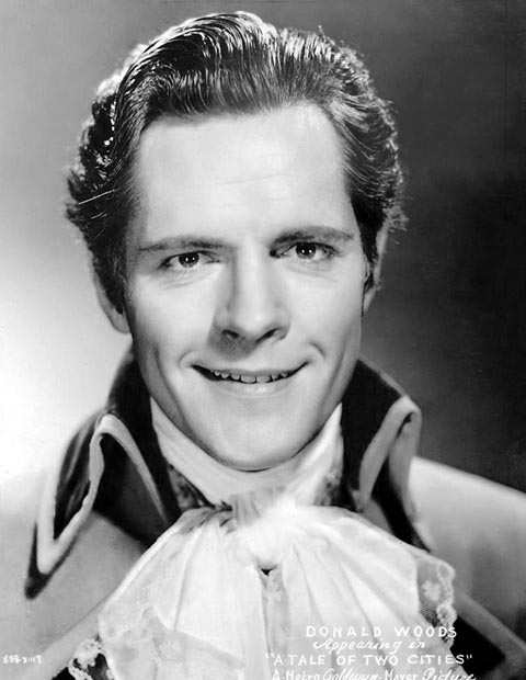 Donald Woods as Charles Darnay