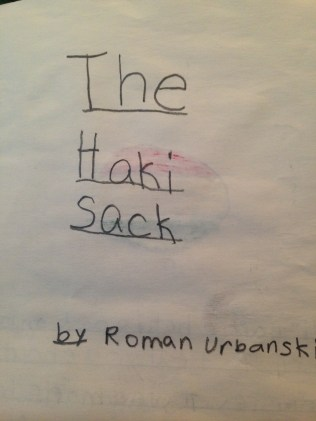 The Haki Sack Cover
