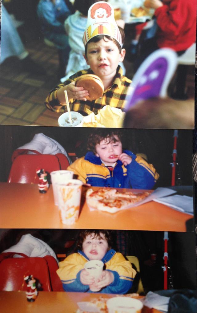 Boys at pizza heaven