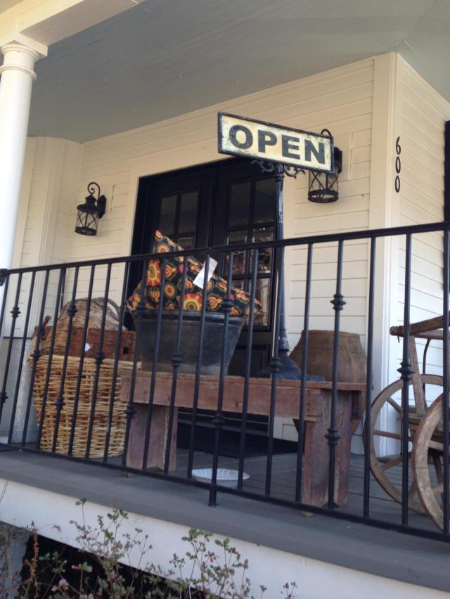 Vintage Cargo Porch