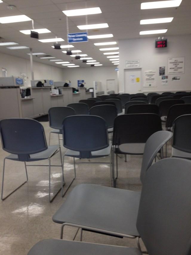 DMV Empty!