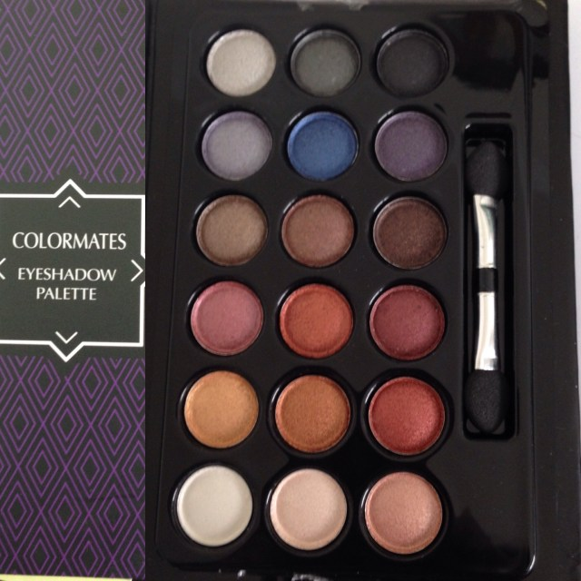 Makeup eyeshadow palette. Three bucks