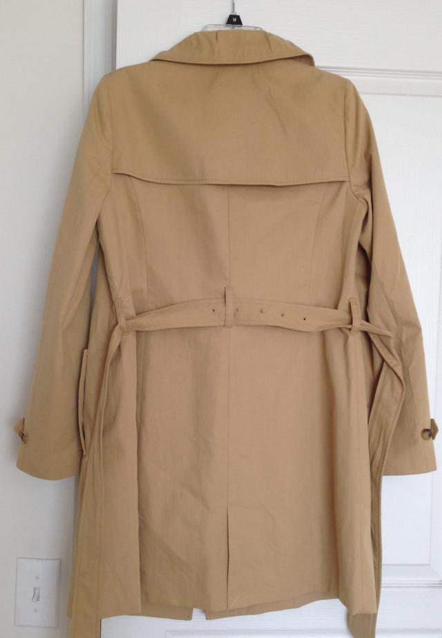 My Trench back view