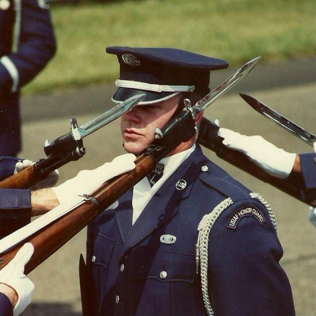 Pete AF Honor Guard