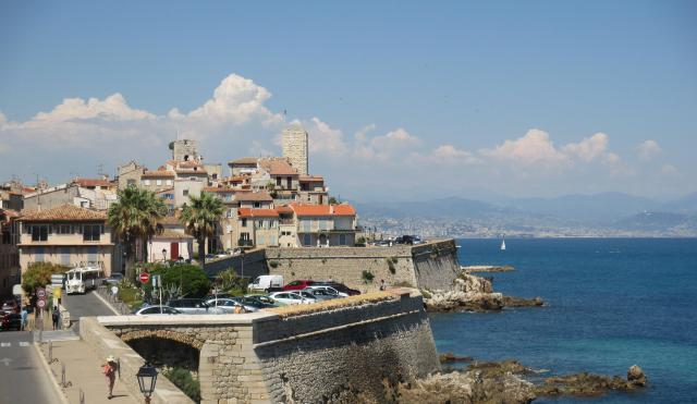 Antibes. more from the ramparts
