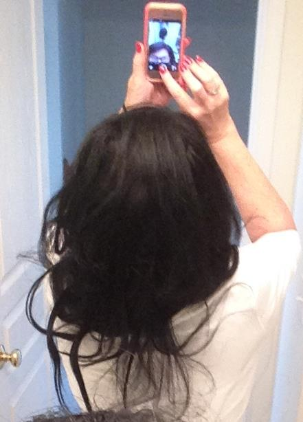 Back view  with four extenstions.