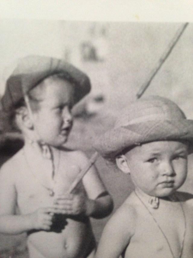 Bonaparte and isabelle as babies la ponche