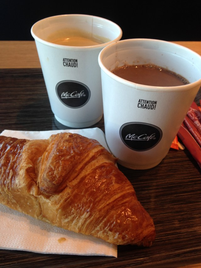 Food Breakfast on the road mc do. GOLD