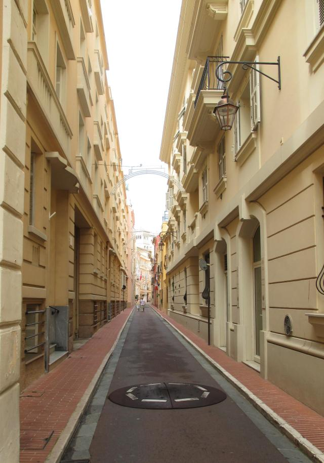 Monaco. Quiet little street