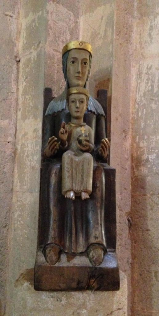 Thoronet Mary and baby jesus. I'm guessing this is relatively new