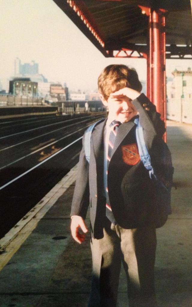 photo on the subway platform