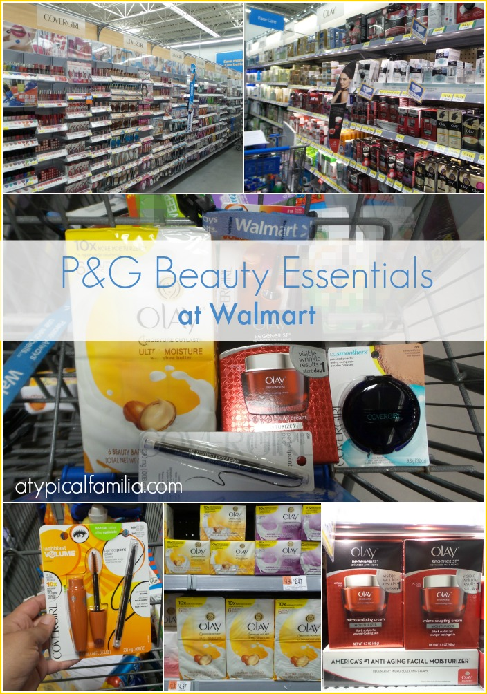 I'm talking about these amazing P&G Beauty Essentials I found at Walmart!