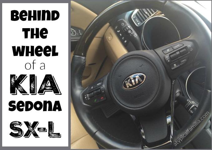 Driving the Kia Sedona SX-L