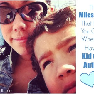 The Milestones that Keep you going when your kid has autism via Atypical Familia