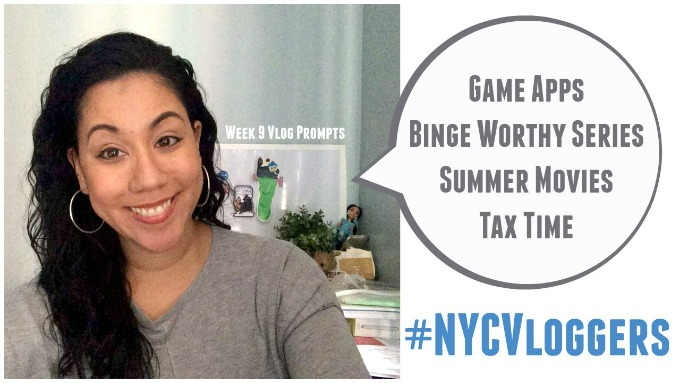 Vlog Prompts Week 9 of the NYC Vloggers Challenge
