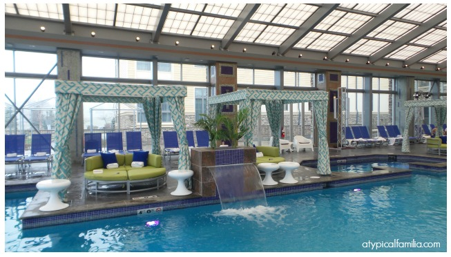 The Pool and Cabanas at Mount Airy Casino Resort