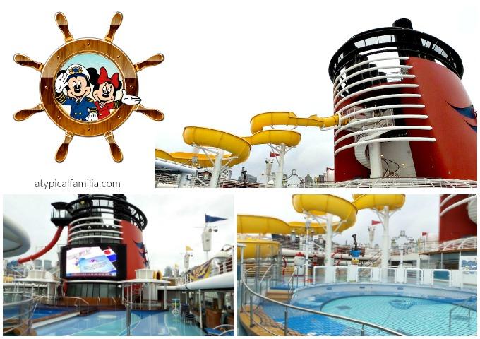 Disney Magic Pool Area