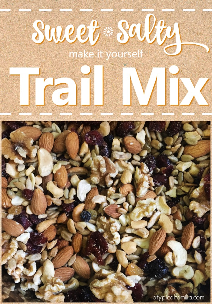Sweet and Salty Trail Mix Easy to Make at Home