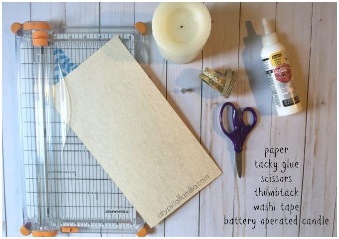 DIY Tangled Paper Lantern via Atypical Familia by Lisa Quinones-Fontanez