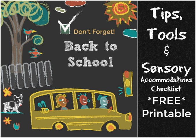 Back to School Tips, Resources and Sensory Accommodations via Atypical Familia