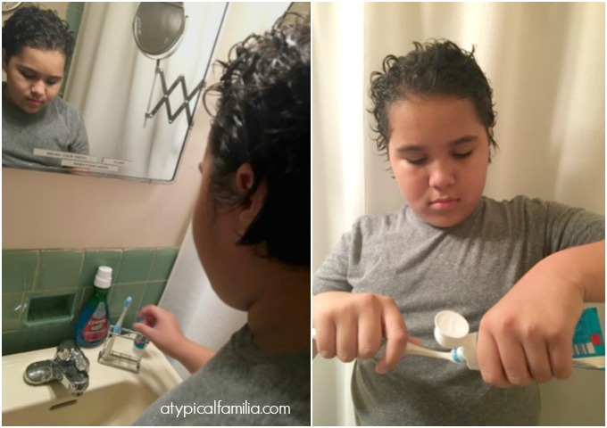 Colgate x MagnusCards Tooth brushing oral care habits via atypical familia by lisa quinones fontanez