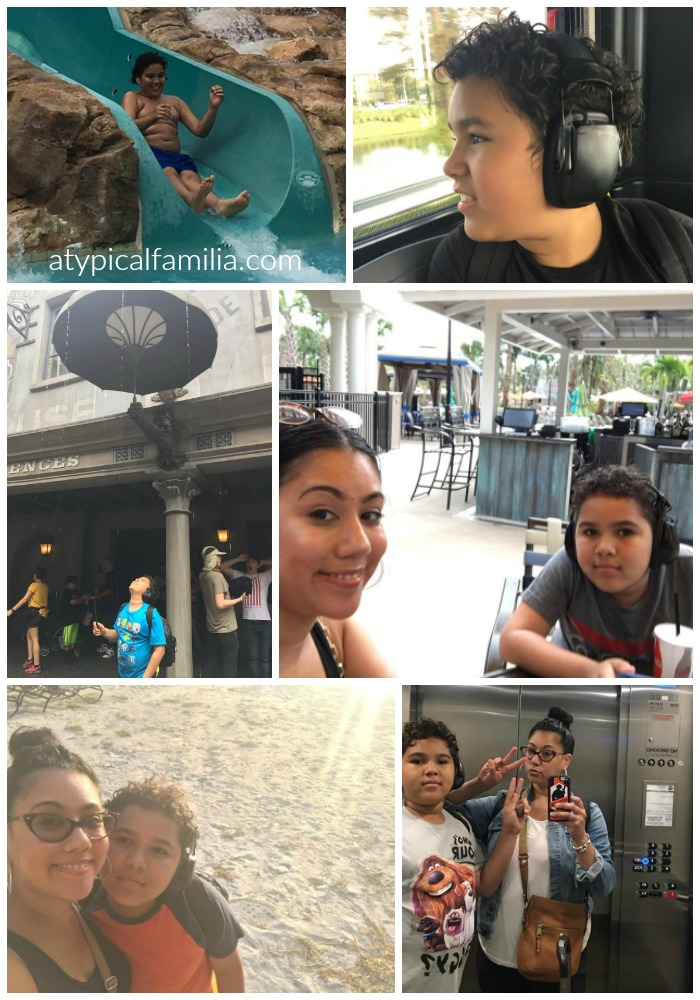 Mother Son Vacation Universal Studios Florida via Atypical Familia