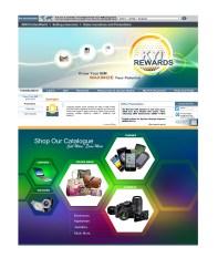 Webpage design for KYI Rewards