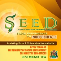 Billboard for the launch of SEED