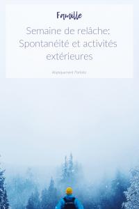Liste d'activités à faire en famille pendant la semaine de relâche. Des activités gratuites ou à petit coût dans la région de Montréal. #relache #relachescolaire #semainederelache #relache2019 #activitésd'hiver #hiver #springbreak #winterfun