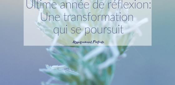 La vie nous donne parfois l'opportunité de prendre du temps pour vivre pleinement une transformation. J'ai eu cette chance depuis quelques années. J'ai traversé beaucoup de choses, mon corps m'a envoyé des signaux importants, mais j'ai eu l'opportunité de pouvoir me poser et réfléchir sérieusement à ce qu'il me fallait pour être bien. Et vous? Prenez-vous ce temps? Vous donnez-vous ce temps? #cheminement #développementpersonnel #croissance #congé #opportunités