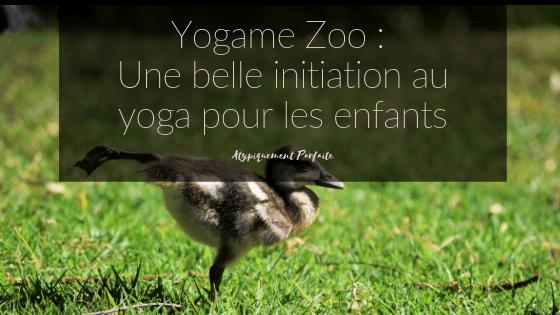 On a pu tester le jeu Yogame Zoo en famille. Les trois enfants ont vraiment apprécié de collaborer pour réaliser des poses de yoga. Pour en apprendre plus sur le jeu, voici un excellent billet pour le faire. #yogame #yoga #enfants #jeu #activité #stimulation #initiationauyoga